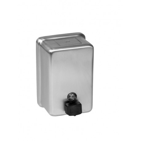 Bobrick Soap Dispenser, Vertical, Surface Mounted