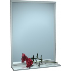 "Mirror with Shelf 24"" x  36"""