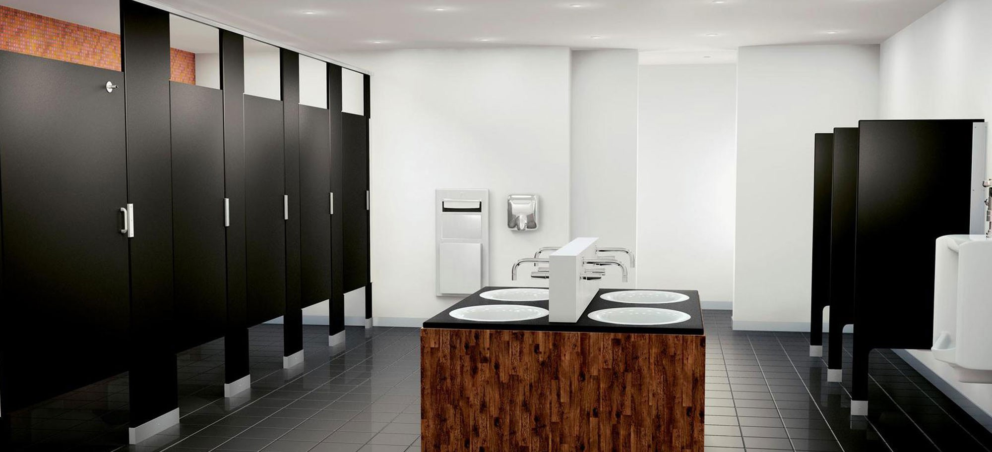 Wholesale Toilet Partitions School Lockers Canadian Washroom Products - How to install bathroom partitions